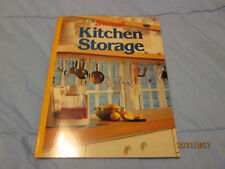 Kitchen Storage by Sunset Publishing Staff (1981, Paperback)