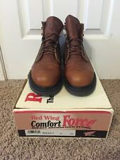Red Wing #2222 Size 9 EE Steel Toe