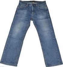 L28 Herren-Straight-Cut-Jeans aus Denim mit niedriger Bundhöhe (en)