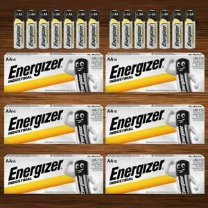Energizer Industrial AA AAA 9V Alkaline Batteries PP3 LR03 LR06 Size C D Battery