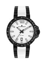 Jacques Lemans Milano High-Tech Ceramic 1-1711f Analogue Tachymeter Stainless