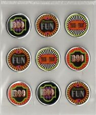 3d Round Halloween Icon Stickers By Recollections
