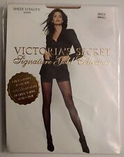 Victoria's Secret Signature Gold Collection Hosiery Sheer Vitality Beige Small