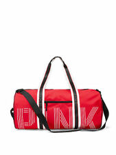 BNWT Victoria's Secret Pink Campus Red duffle bag weekend travel