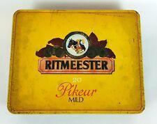 Ritmeester 20 Pikeur Mild Vintage Cigar Tin Holland Tobacco Box Collectable