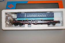 Roco 44311B 4-Achser Taschenwagen Kühne & Nagel Spur H0 OVP