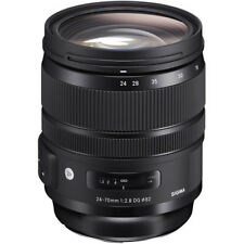 Sigma 24-70mm f/2.8 DG OS HSM Art Lens for Canon DSLR - 4 YEAR USA WARRANTY