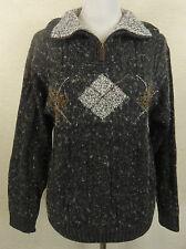 Nerwegerer Damen-Pullover mit Reißverschluss