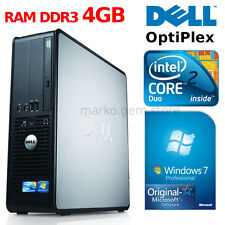 Desktop PC DELL OPTIPLEX 380 WINDOWS 7 PRO ORIGINALE INTEL CORE 2 DUO 2GB DDR3