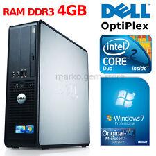 Desktop PC DELL OPTIPLEX 380 WINDOWS 7 PRO ORIGINALE INTEL CORE 2 DUO 2GB DDR3