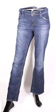 GJ6-116 Esprit Tube Damen Jeans Hose regular W30 L32  blau used-look Stretch