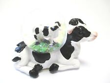 Kuh Cow Schneekugel Tierfigur Snowglobe Glitzerkugel,Neues Design !!