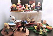 Danbury Mint Peanuts Figurines (Released 1992-1994) Set Of 12 (Full Set)