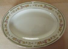 "Savannah by Everbrite OVAL SERVING PLATTER CHOP PLATE - 12.75 x 9.25"" nice cond"