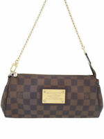 LOUIS VUITTON Shoulder Clutch Hand Bag Pouch Eva N55213 Used