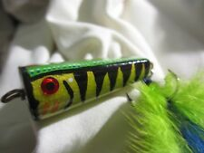 Dutchy's Top Water Fishing Lure #19 - Custom Handcrafted with Durable Finish