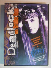 DEADLOCK WITH BRADLEE DEAN INSTRUCTIONAL DRUMMING PREOWNED DVD W/64 PAGE BOOKLET