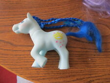 My Little Pony Knock Off blue with yellow crown