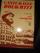 Canti Dalle Dolomiti dal repertorio del coro Rosalpina Bolzano