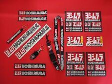 YOSHIMURA MEGA BUNDLE! 12- STICKERS DECAL, 2- KEYCHAINS 1- LANYARD KEY RING!