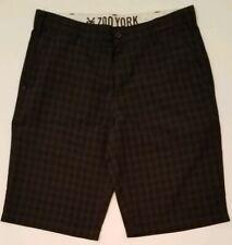 Dyer Boardshorts Khaki//Black Mens Zoo York S-XXL Official