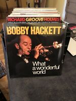 "Hackett, Bobby	""What A Wonderful World"" (Doctor Jazz FW40234) - FACTORY SEALED!"