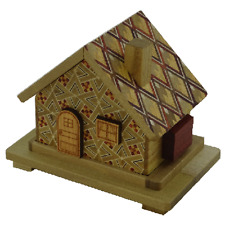 Japanese Puzzle House small 7 move personal secret box
