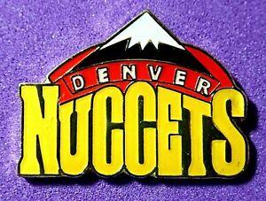RARE VINTAGE LTD Cloisonne DENVER NUGGETS lapel pin NBA BASKETBALL**
