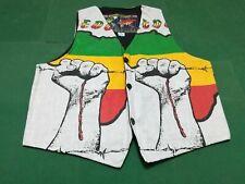 Bob Marley 1 - Ultra Rare Vintage Vest, Size Medium - Made IN Italy