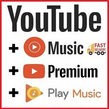 YOUTUBE 6 Months Premium |New Prepaid | 100% private | Works Worldwide | Fast 🚀