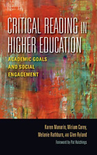 Manarin-Critical Reading In Higher Educatio  (UK IMPORT)  BOOK NEW