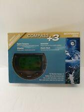 Wayfinder Compass +3 V7500, Digital Compass, Altimeter, Barometer, Atomic Clock