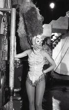 LINDSAY WAGNER FEMBOT ROBOT MASK THE BIONIC WOMAN RARE '77 NBC TV PHOTO NEGATIVE