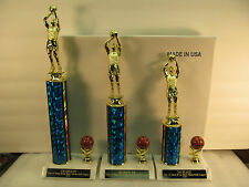 Basketball Trophies March Madness 1st, 2nd, 3rd FREE Engraving Ships 2 Day Mail