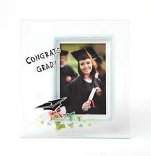 Graduation Glass Deep-Set Photo Frame Gift - Hand Painted