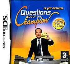 Questions pour un Champion : Edition 20 Ans pour DS