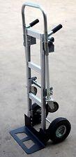 250/500kg Aluminum Convertable 2 wheel Hand truck to 4 wheel platform Trolley