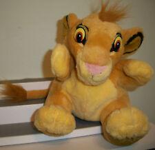Disney Lion King Simba Cub Puppet Plush Stuffed 8 inch Applause Loveable Soft