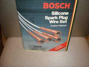 BOSCH IGNITION WIRE SET, CHEVROLET LUV, PLYMOUTH CRICKET, RENAULT R12, R15, R17,