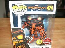 EB Games Exclusive Molten Man Funko Pop Glow in the dark Spiderman Far From Home