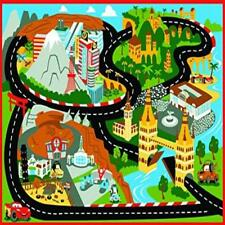 Disney Cars Rug Mt Fuji Edition Toys W/ Lightning Mcqueen Toy Car Kids Cars2 Dur