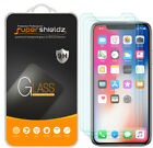 3X Supershieldz Tempered Glass Screen Protector Saver Shield for Apple iPhone X