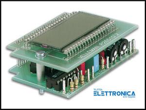 Velleman K2651 Voltmetro Termometro indicatore da pannello LCD PANEL METER KIT