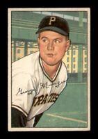 1952 Bowman Set Break # 243 George 'Red' Munger VG-EX *OBGcards*