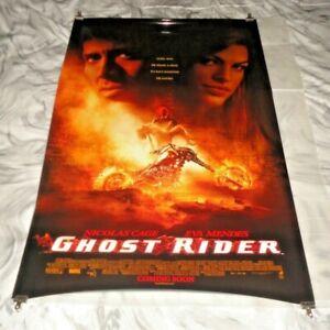 Ghost Rider Original US One Sheet Movie Cinema Poster 2007 Nicolas Cage