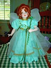 "Paradise Galleries / Patricia Rose Porcelain ""Shannon The Shamrock Fairy"" W/Coa"