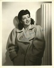 MYSTERY ACTRESS Vintage Signed Photo - Who Is This?