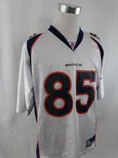 Autographed NFL Denver Broncos Ashley Lelie Reebok Game Jersey - Large