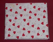 Unbranded Polycotton Fat Quarter Spotted Craft Fabrics