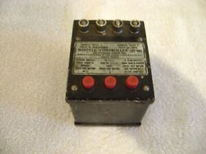Lionel Prewar Whistle Controller #66 now with power diode. Tested with tender.